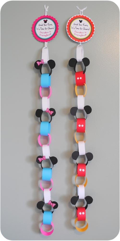 Disney Vacation idea mickey mouse countdown calendar