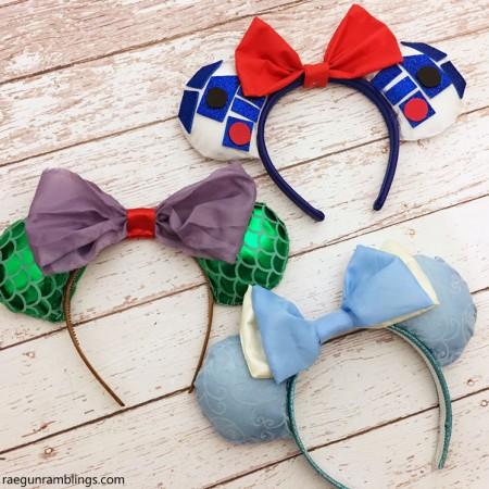 DIY Disney Ears super cute and easy for Disneyland trips