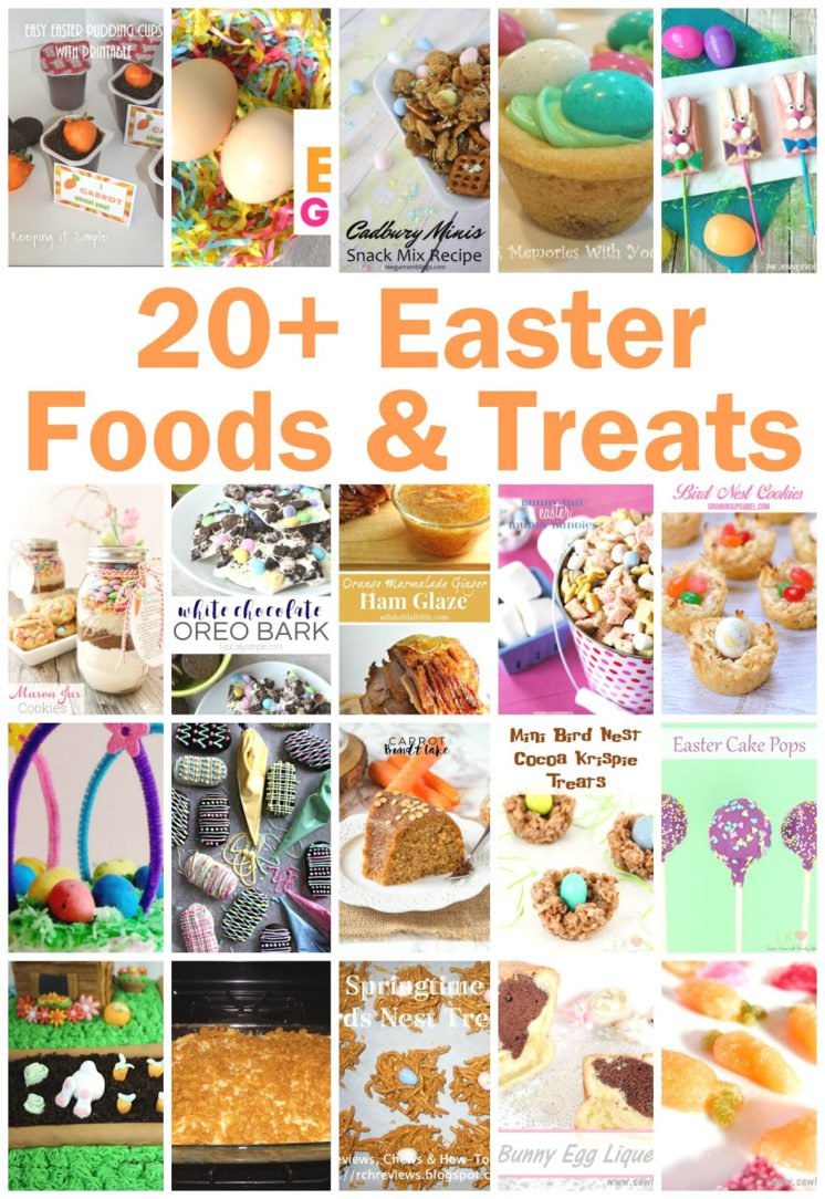 20+ Easter Foods and Treats-2