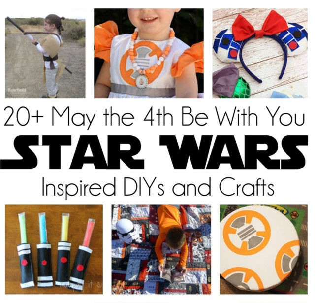 Awesome free diy Star Wars crafts party ideas and recipes