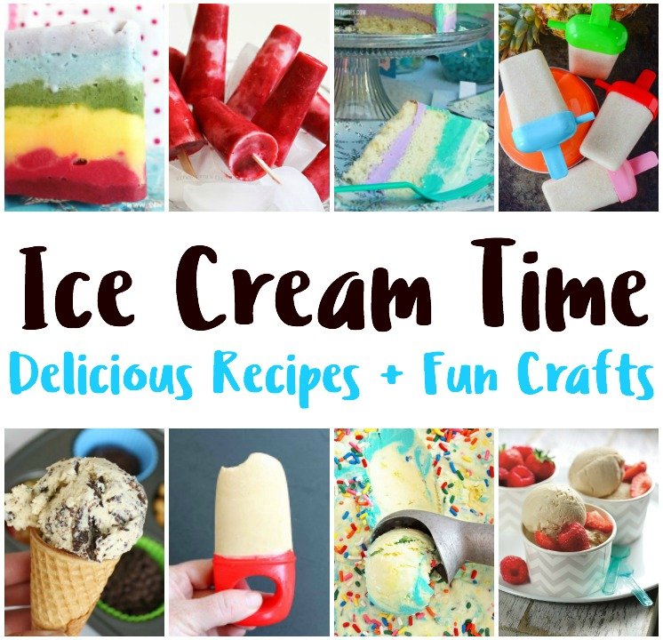 tried and true ice cream recipes and crafts