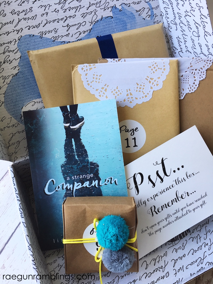Once Upon a Book Club suprise presents that match up to a book as you read