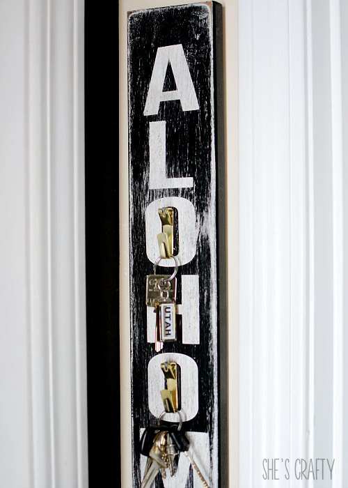 key holder - harry potter- alohomora sign
