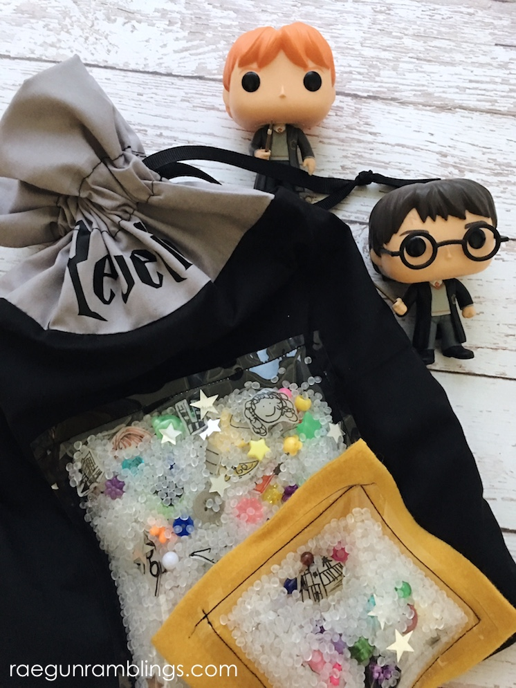 DIY Harry Potter I Spy bag and pouch sewing tutorial