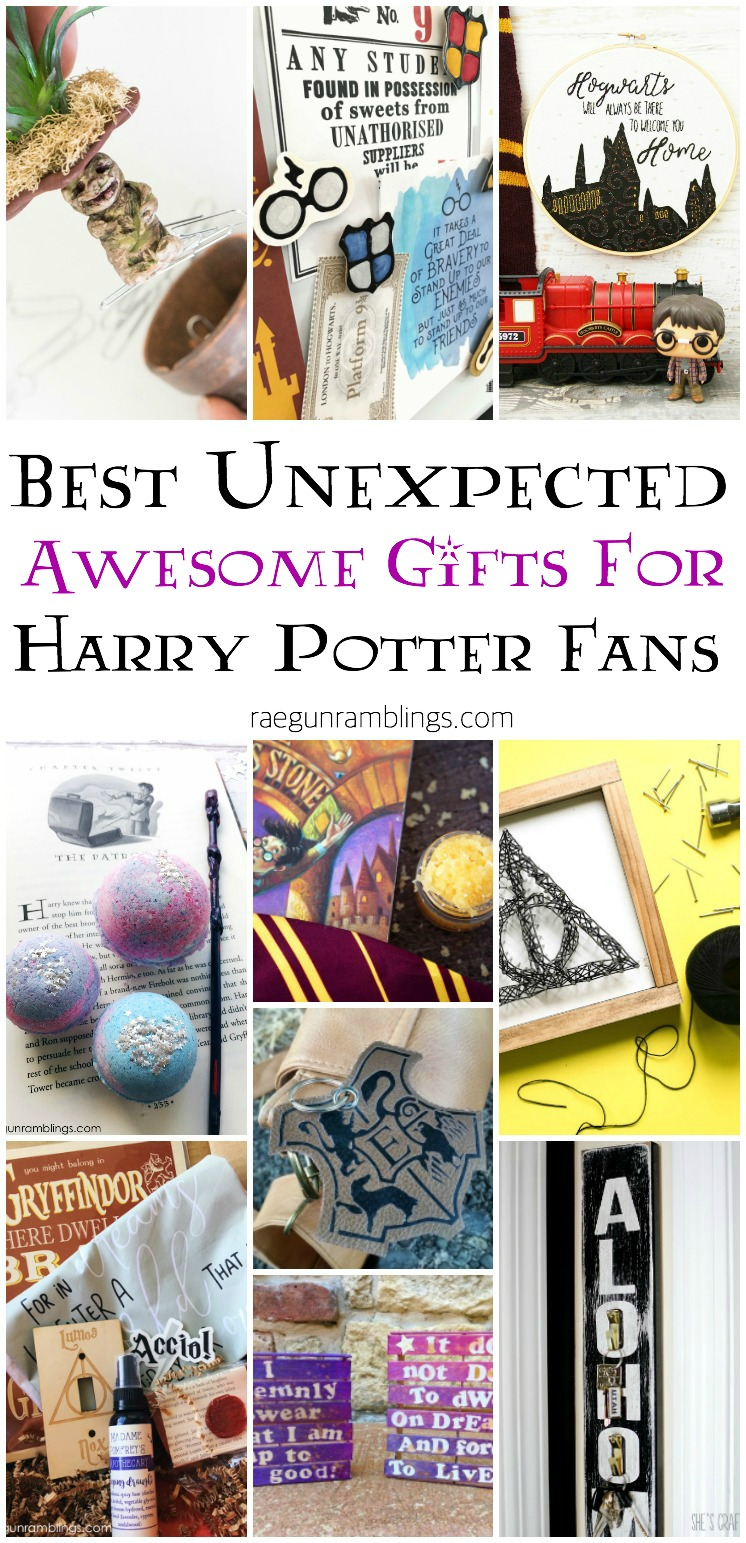 Love these super unique DIY gift ideas for harry potter fans