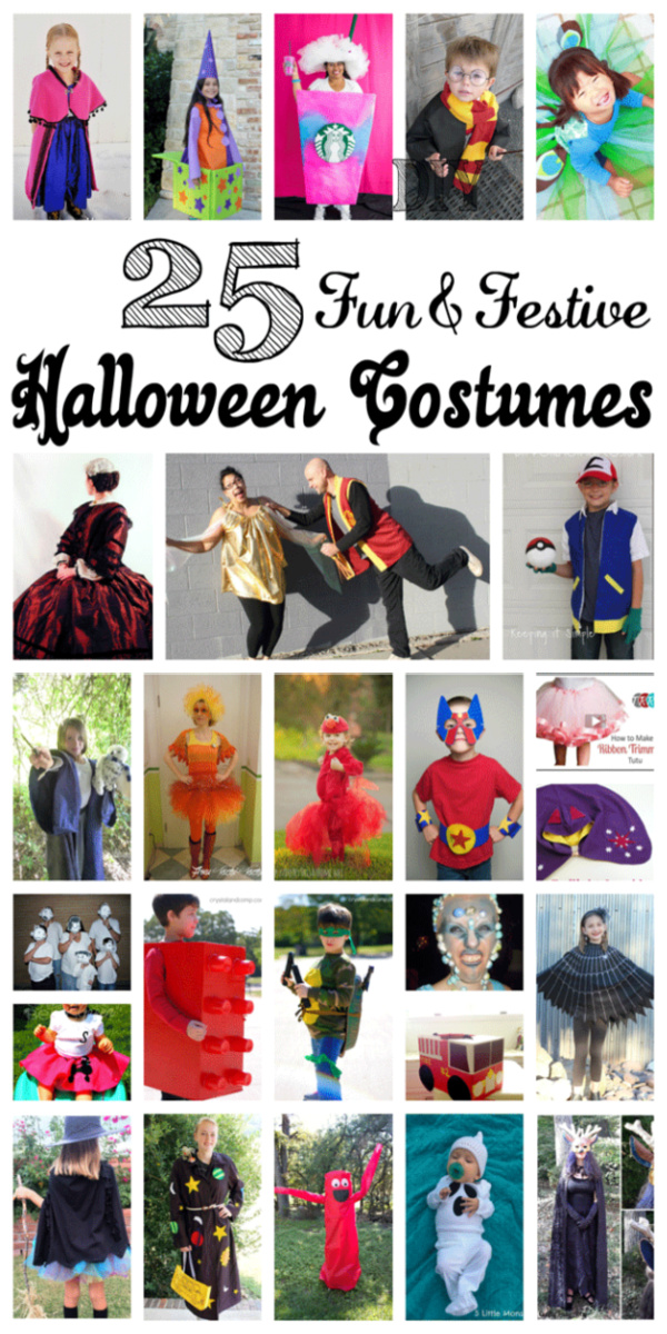 Lots of awesome DIY Halloween costumes