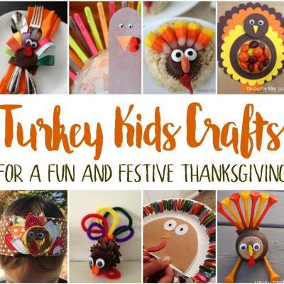 Thanksgiving Turkey Kids Crafts