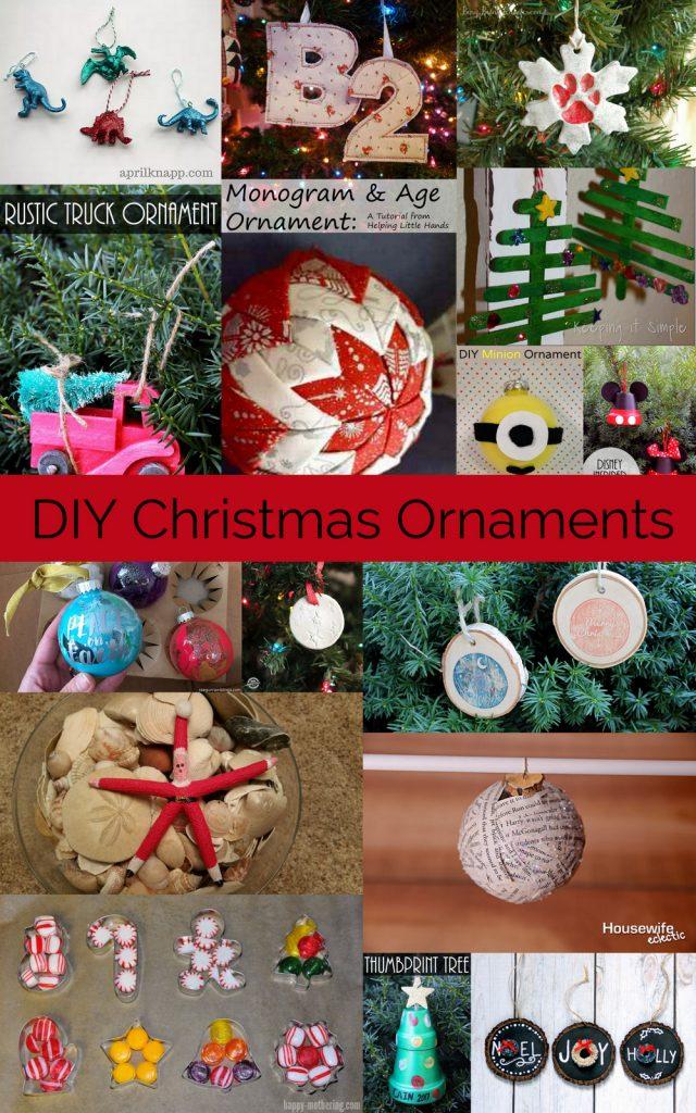 Handmade-Christmas-Ornaments diy tutorials