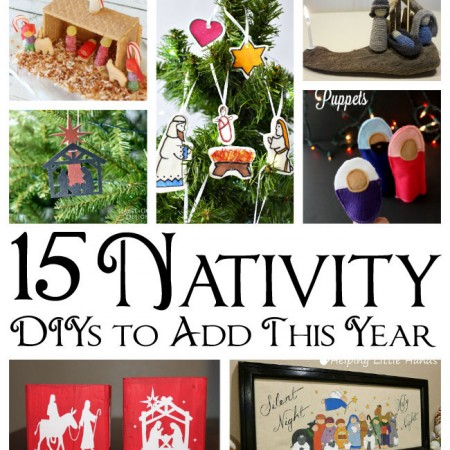 awesome DIY nativitie ideas for christmas and more