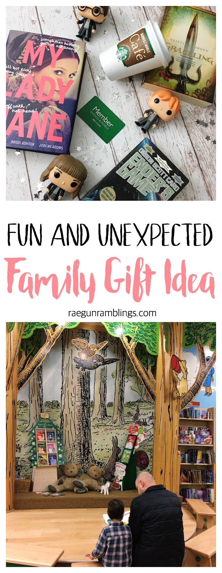 love this idea for a fun an unusual family gift idea