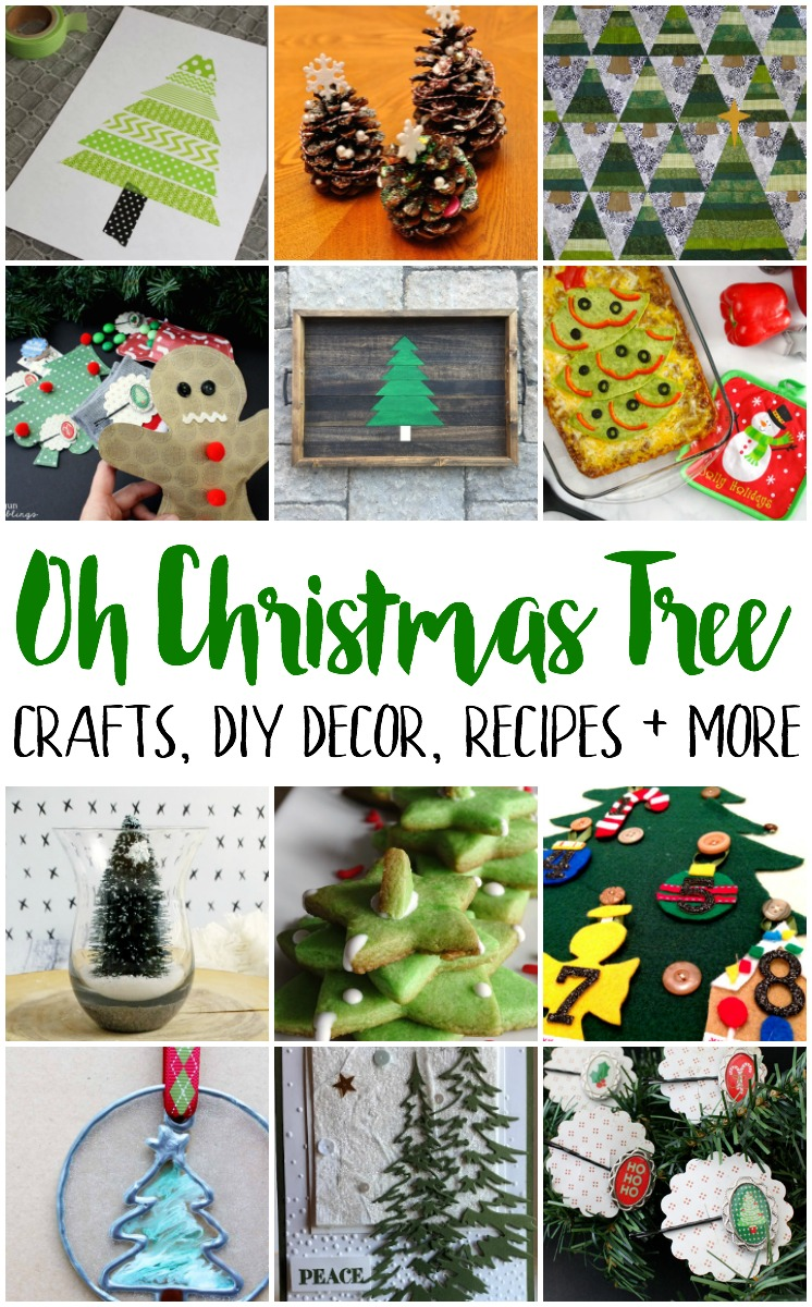 tons of awesome christmas tree crafts diy decorations recipes and more