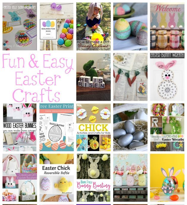 Fun-and-Easy-Easter-Crafts tutorials