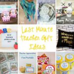 Awesome ideas for teacher appreciation gifts. Compelte with printables, tutorials and recipes