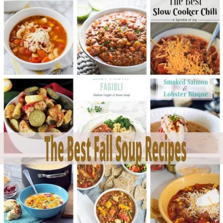 must make Fall Soup Recipes