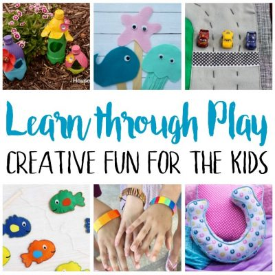 Learn through Play Kid Activities and Block Party
