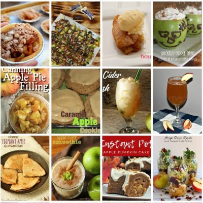 Easy Apple Recipes and Block Party