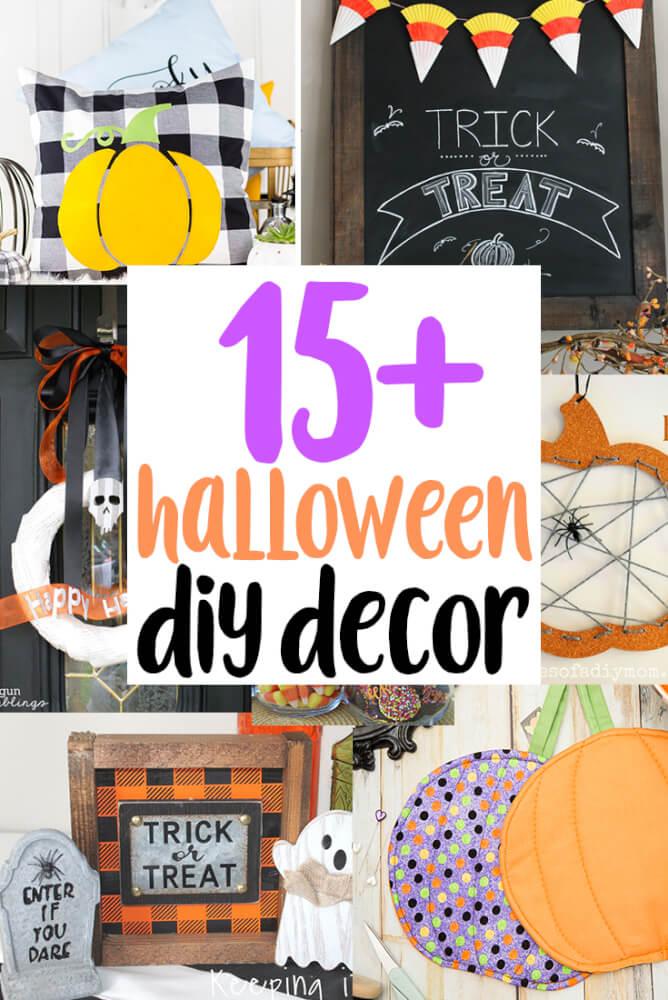 halloween DIY Decor tutorials