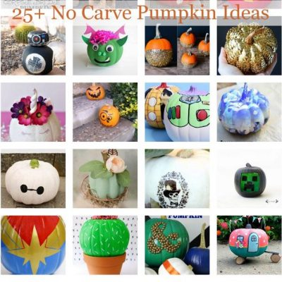 Amazing No Carve Paint Pumpkin Ideas