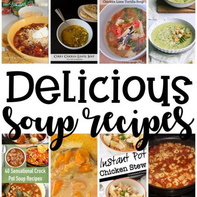 Delicious Soup Recipes and Block Party