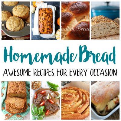 Delicious Homemade Bread Recipes