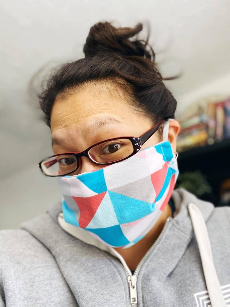 best fitting homemade facemask tutorial and free sewing pattern