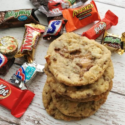 Leftover Candy Cookies Recipe