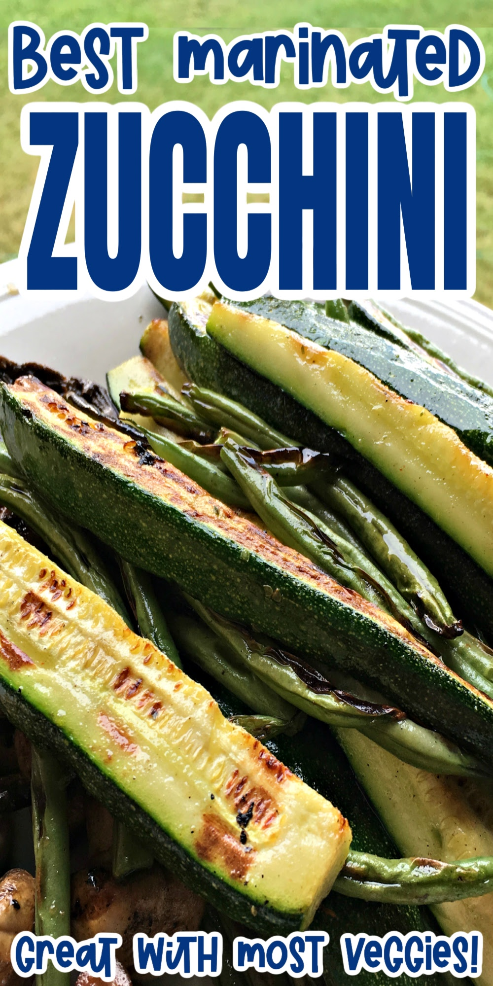 Make the easiest and most delicious zucchini recipe. Works great with other vegetables too. Grilled, air fried, pan fried or even baked.