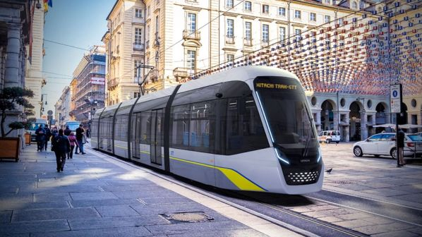 Hitachi Wins Turin Tram Order International Railway Journal