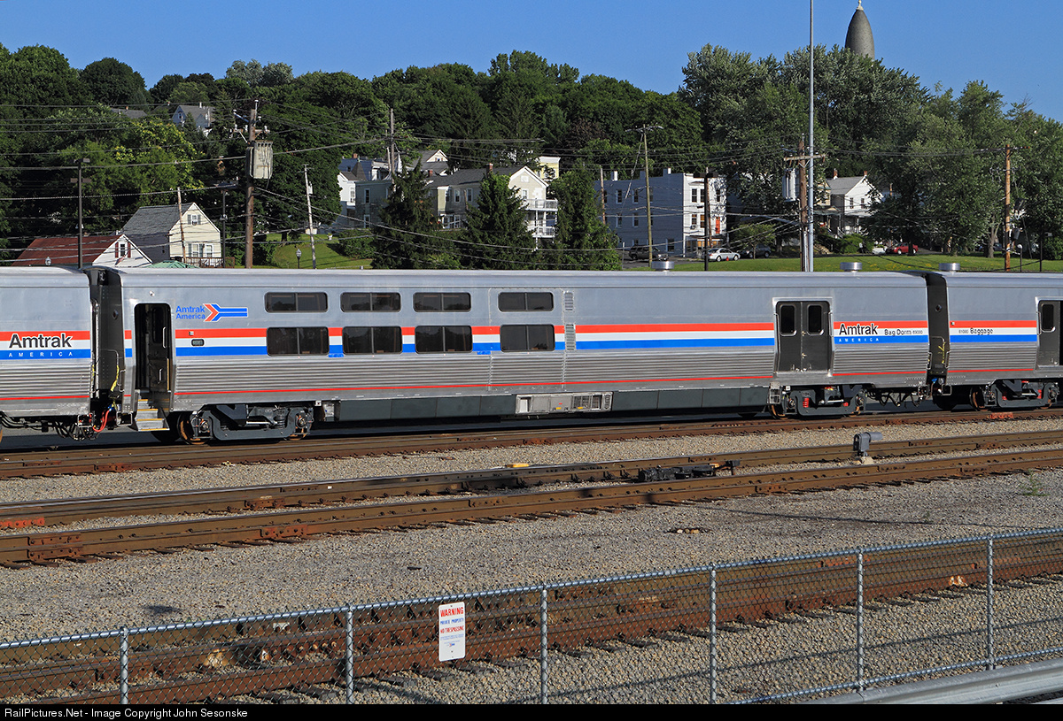 Amtrak New Viewliner Cars