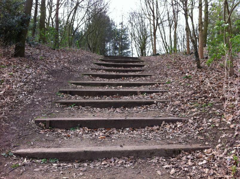 Matlock S Railway Sleeper Steps