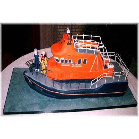Stornaway Lifeboat Lifeboat Wedding Cakes