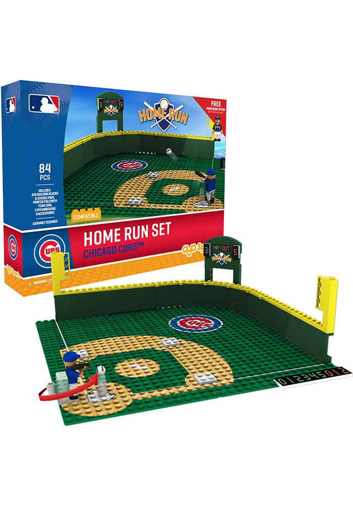 Chicago Cubs Home Run Derby Set Collectible Oyo Set   9500562 Chicago Cubs Home Run Derby Set Collectible Oyo Set