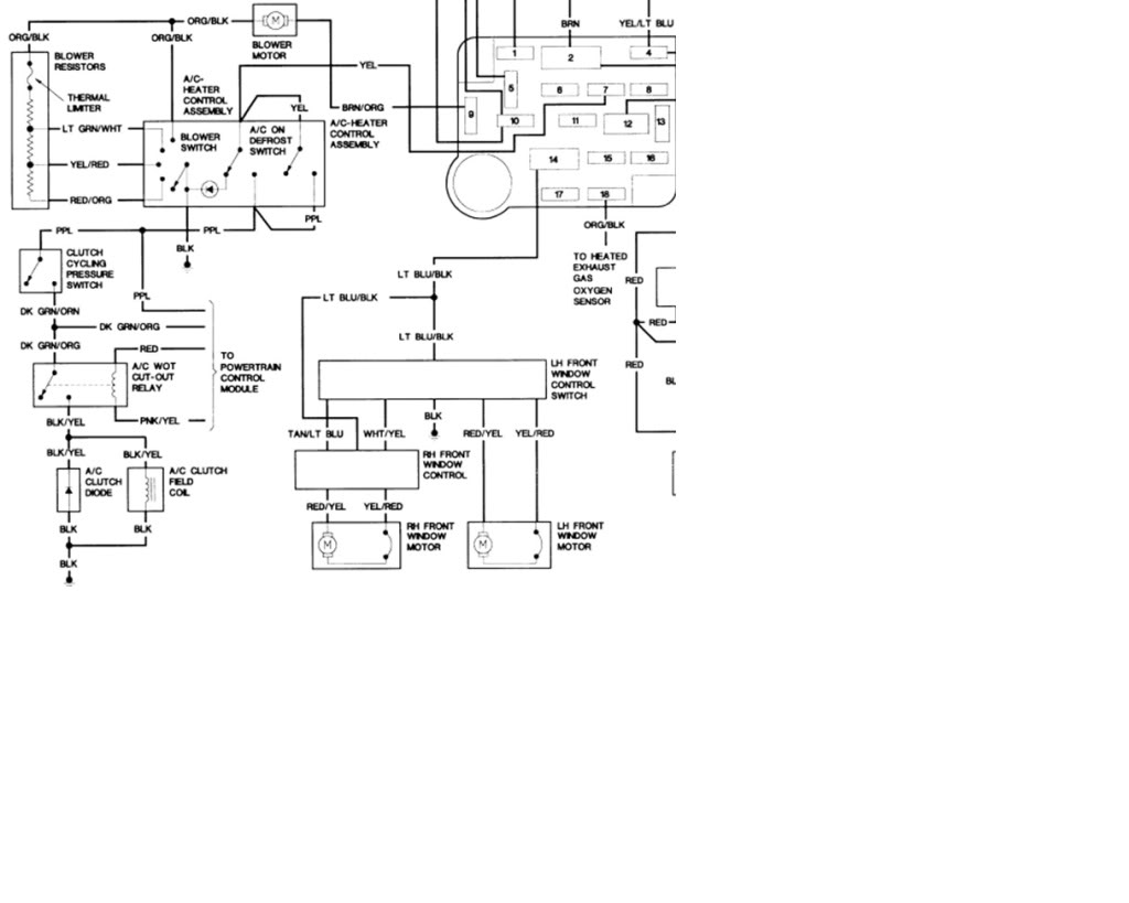 Electrical a c problem ranger s the ultimate ford ranger 1994 f150 starter wiring diagram 1994 f150
