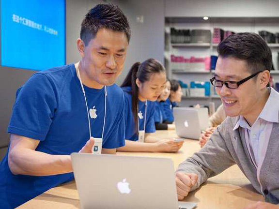 Hi tech News  Chinese  businessmen  are trading sessions  Apple tech     Chinese  businessmen  are trading sessions  Apple tech support