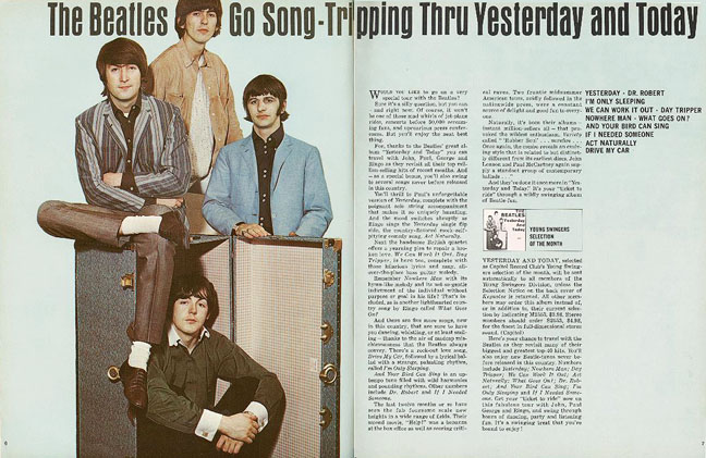 Beatles Yesterday Today And Re Cover Isued