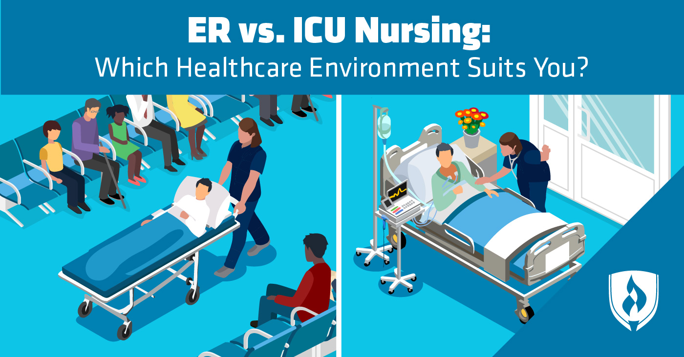 Er Vs Icu Nursing Which Healthcare Environment Suits You