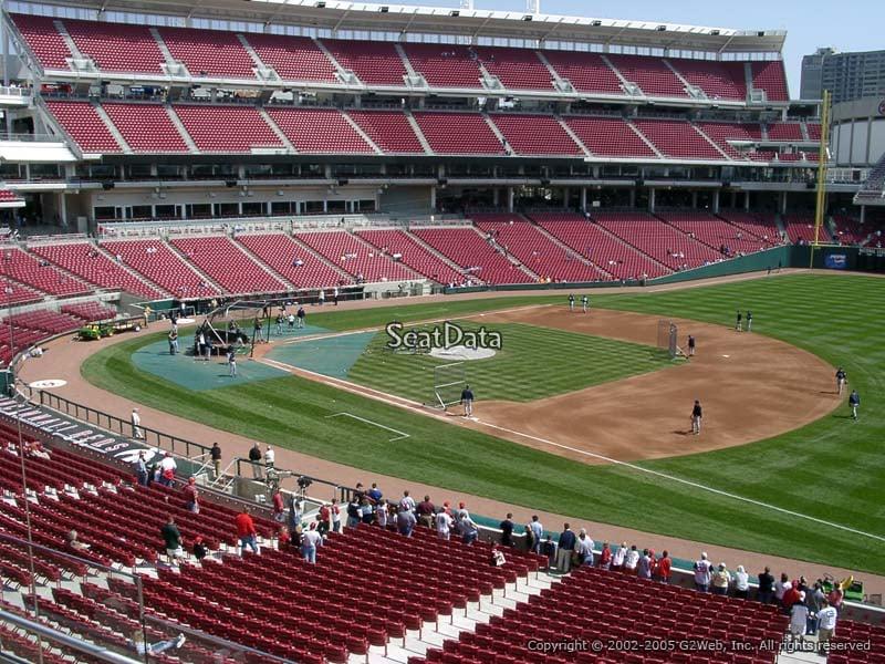 Great American Ball Park Section 306 Cincinnati Reds