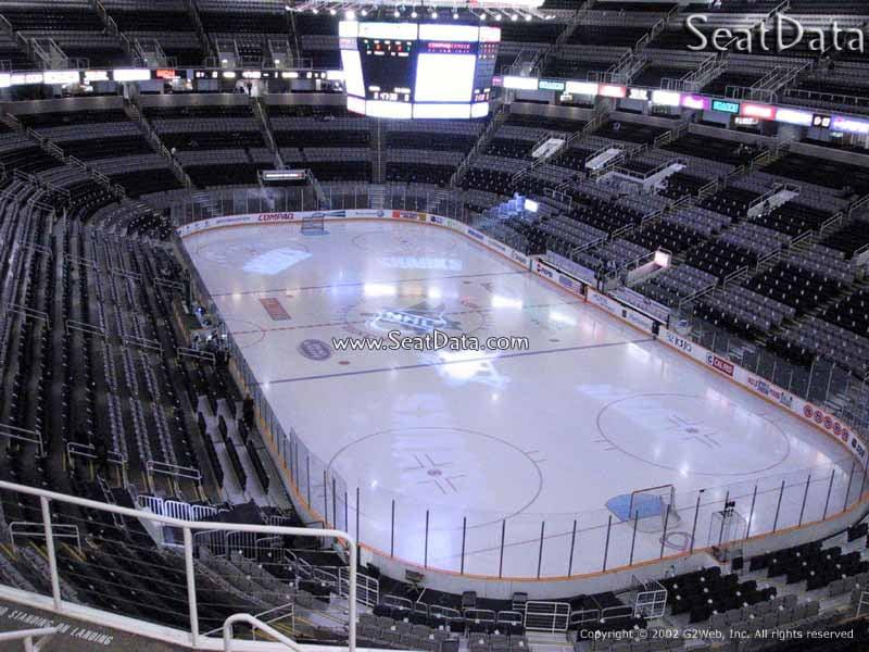 Sap Center Section 210 San Jose Sharks Rateyourseats Com