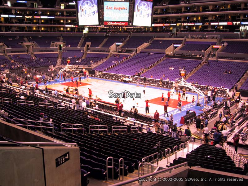 Seating Los Angeles Clippers