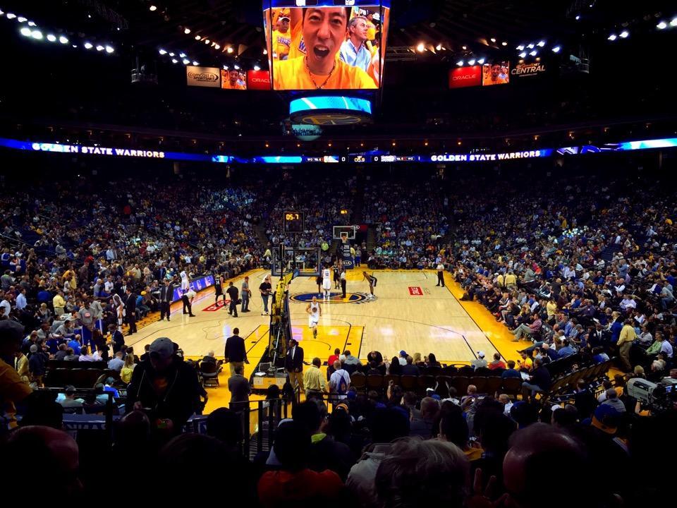 Seating Warriors Chart Basketball