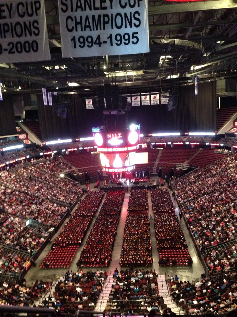 Center Prudential Chart Rows Seating