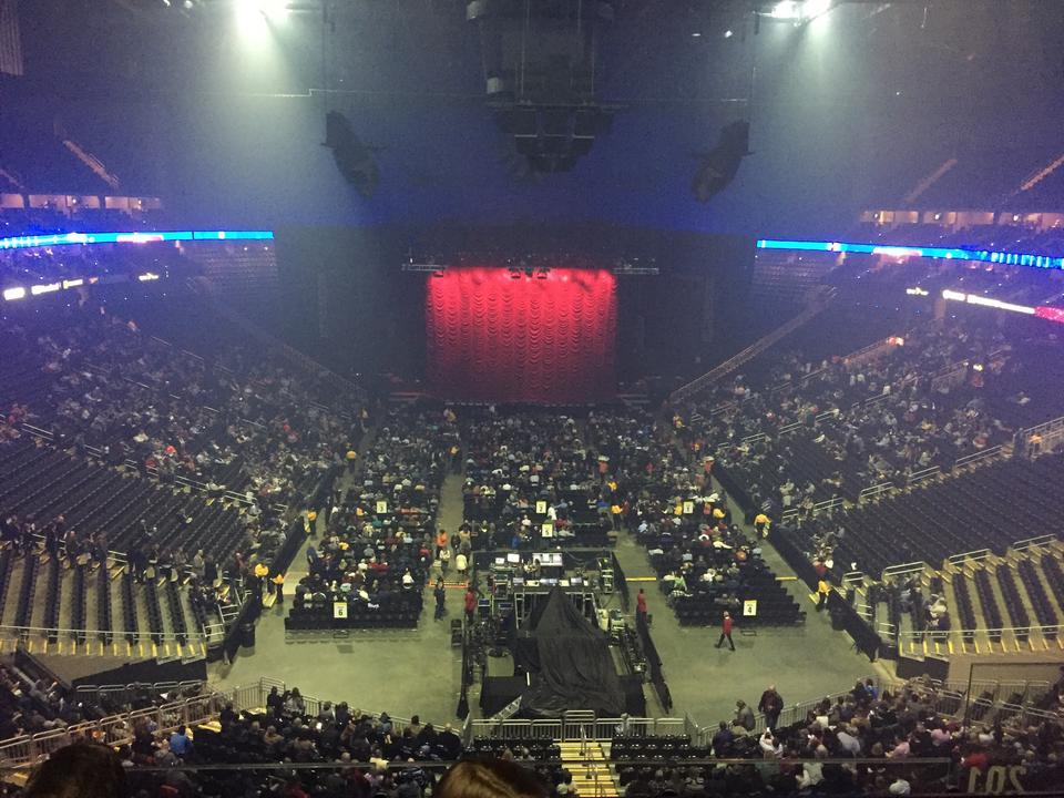 Sprint 102 Row Views Seat Seating Center Concert Sec