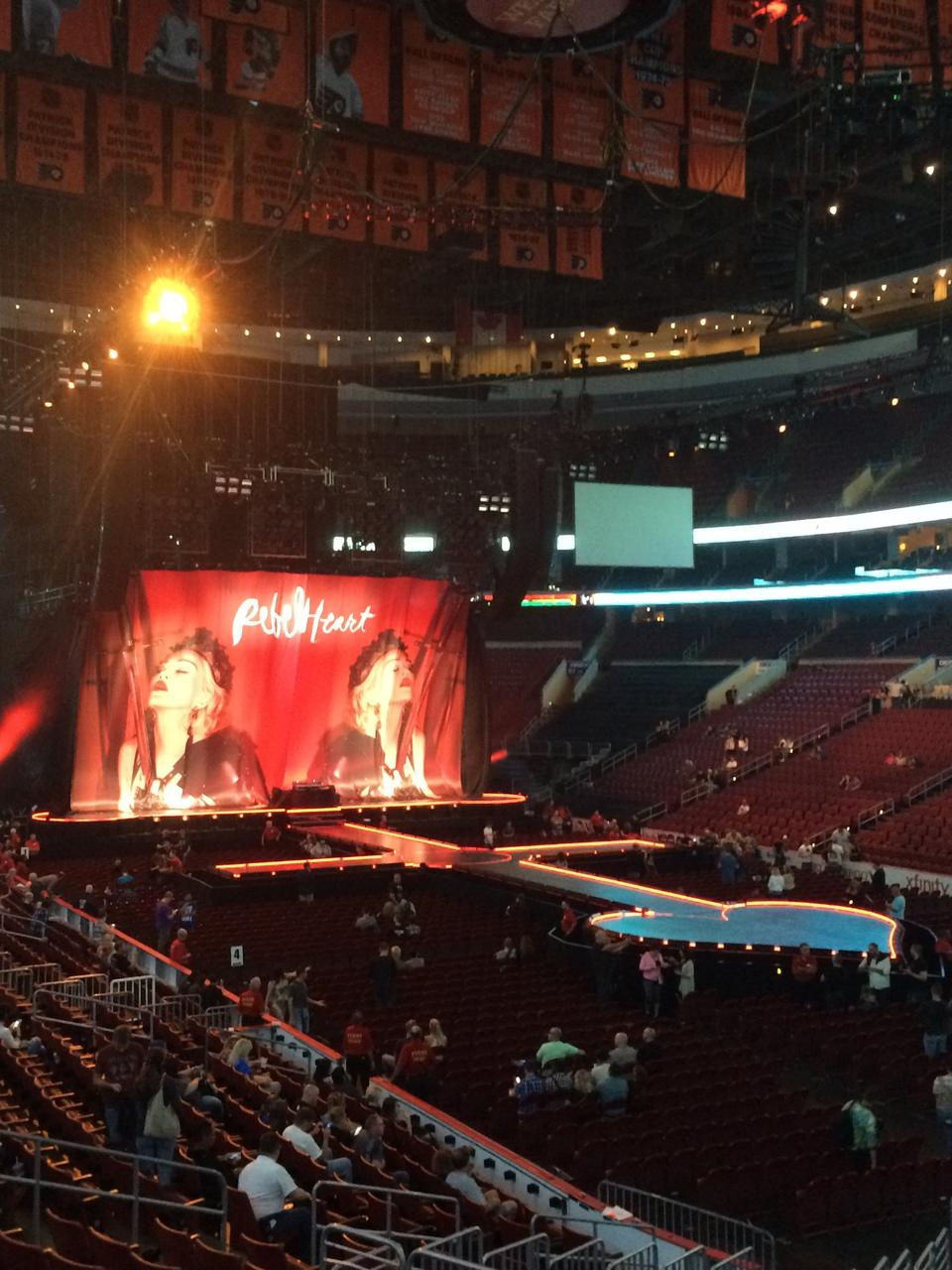 Wells Fargo Center Philadelphia Seating