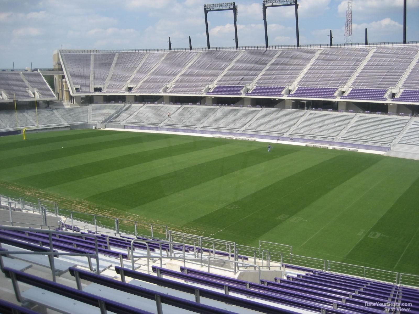 Amon Carter Stadium Section 202 Rateyourseats Com