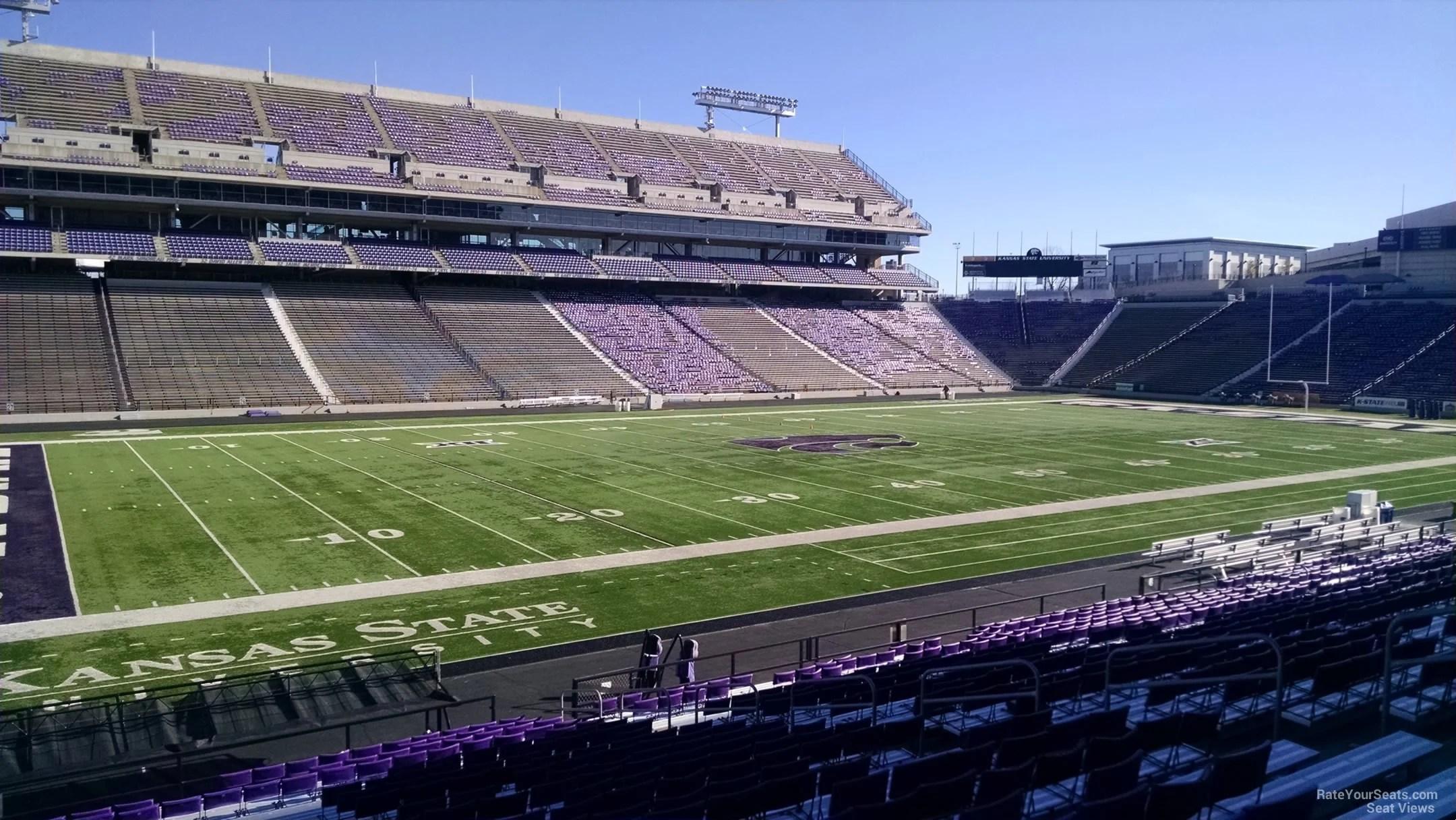Kansas State University Stadium Seating