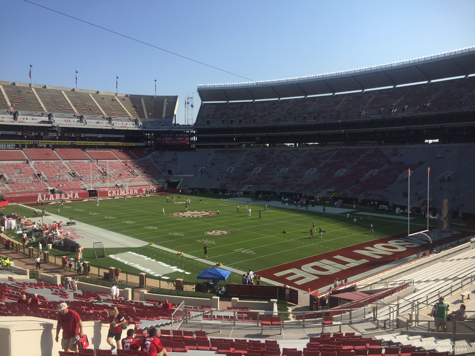 Bryant Denny Stadium Section A Rateyourseats Com