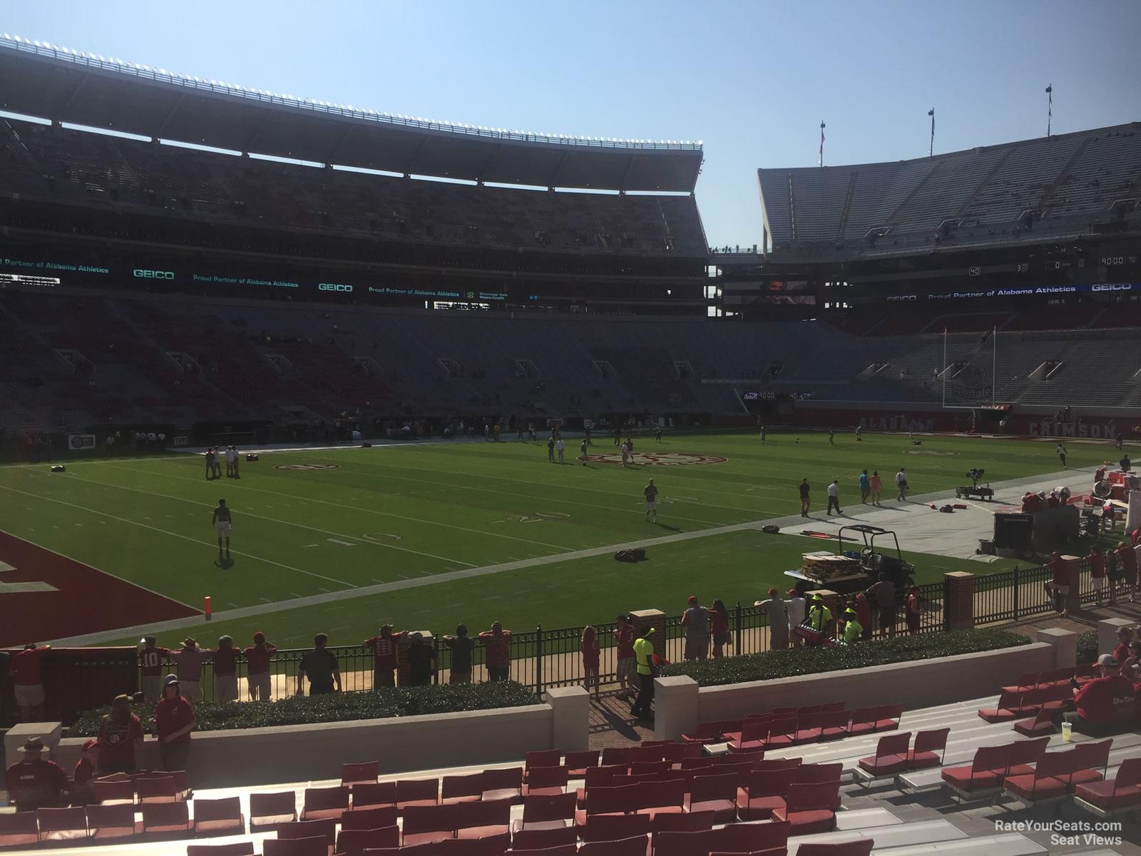 Bryant Denny Stadium Section M Rateyourseats Com