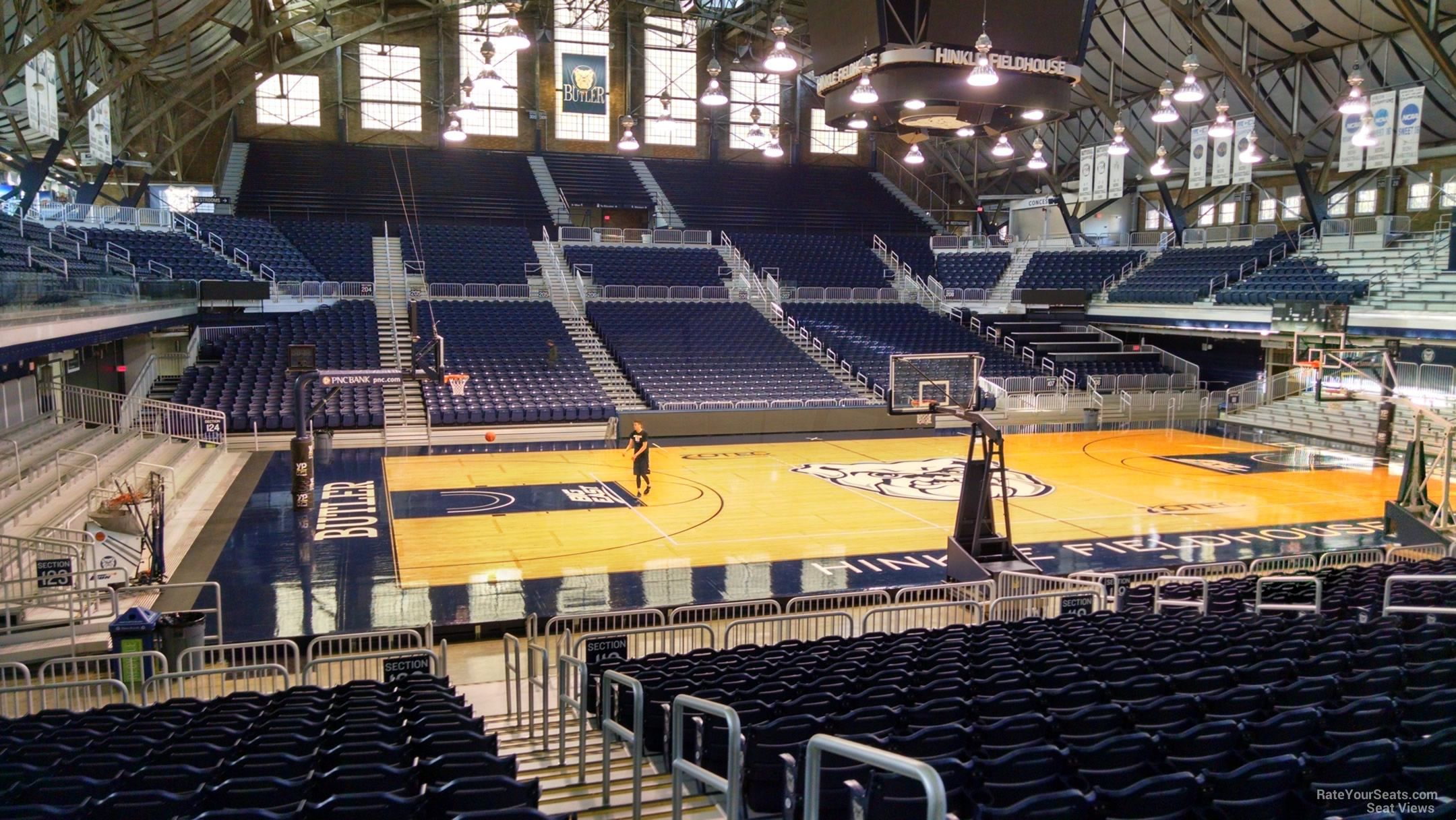 Hinkle Fieldhouse Section 120 Rateyourseats Com