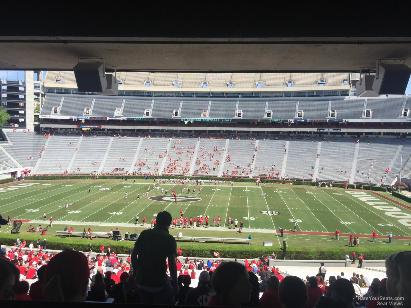 Sanford Stadium Section 130 Rateyourseats Com