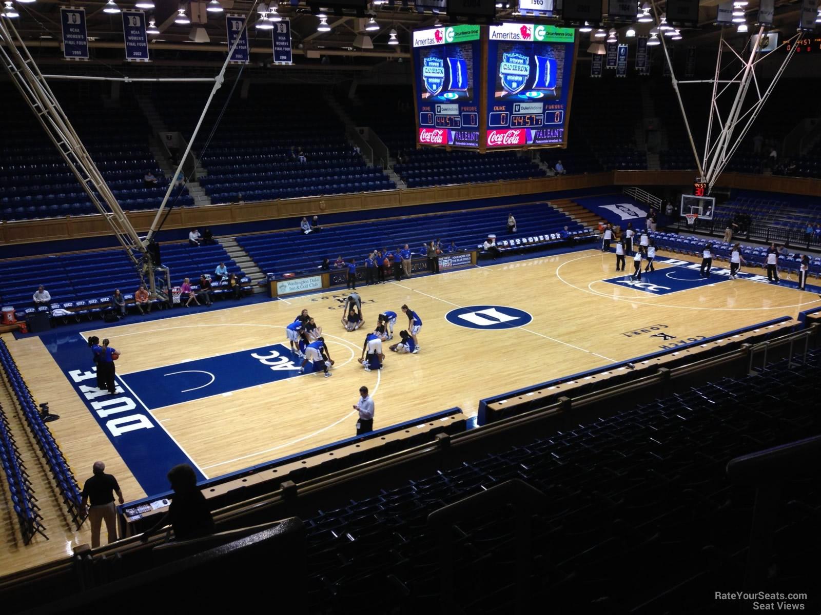 Cameron Indoor Stadium Section 13 Rateyourseats Com